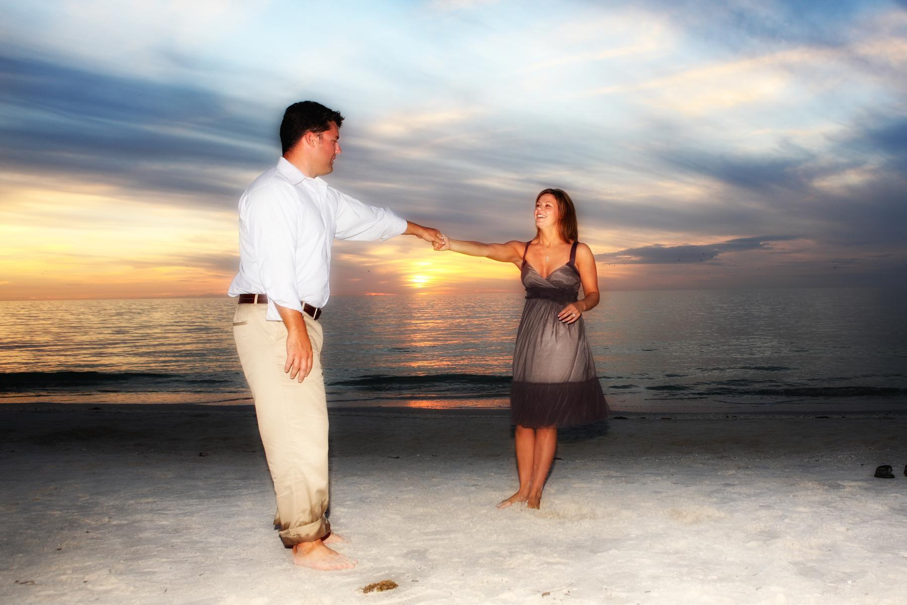 Engagement Portrait Naples Beach